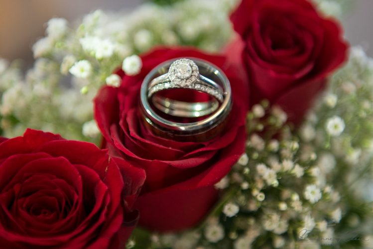 Wedding Ring and Roses