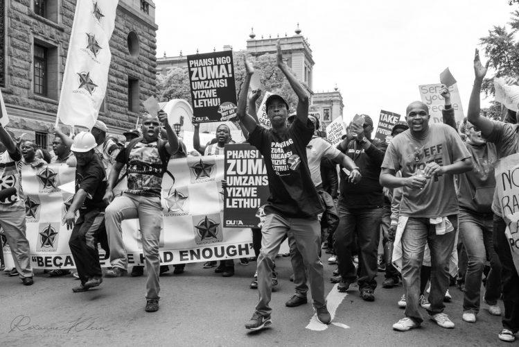 Protests - Zuma must fall