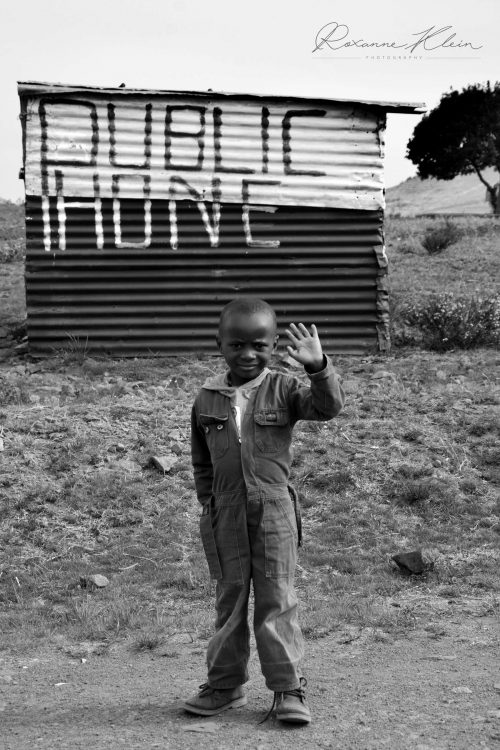 South Africa - Child in Rural Scene